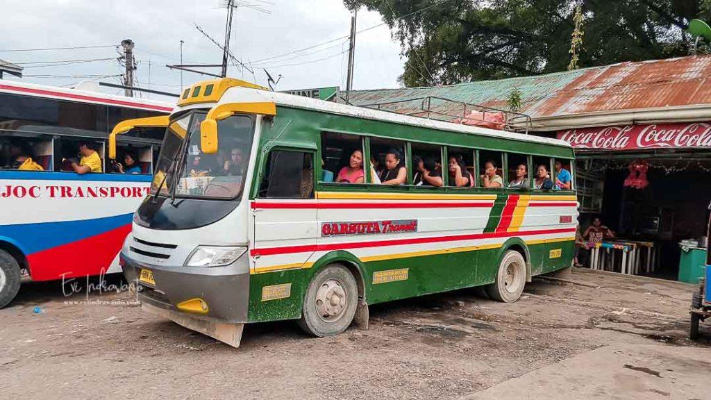 Salah satu trayek Jeepney di  Pulau Bohol