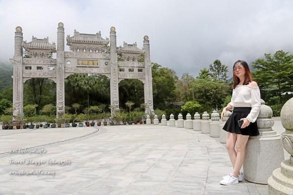 di Desa Ngong Ping