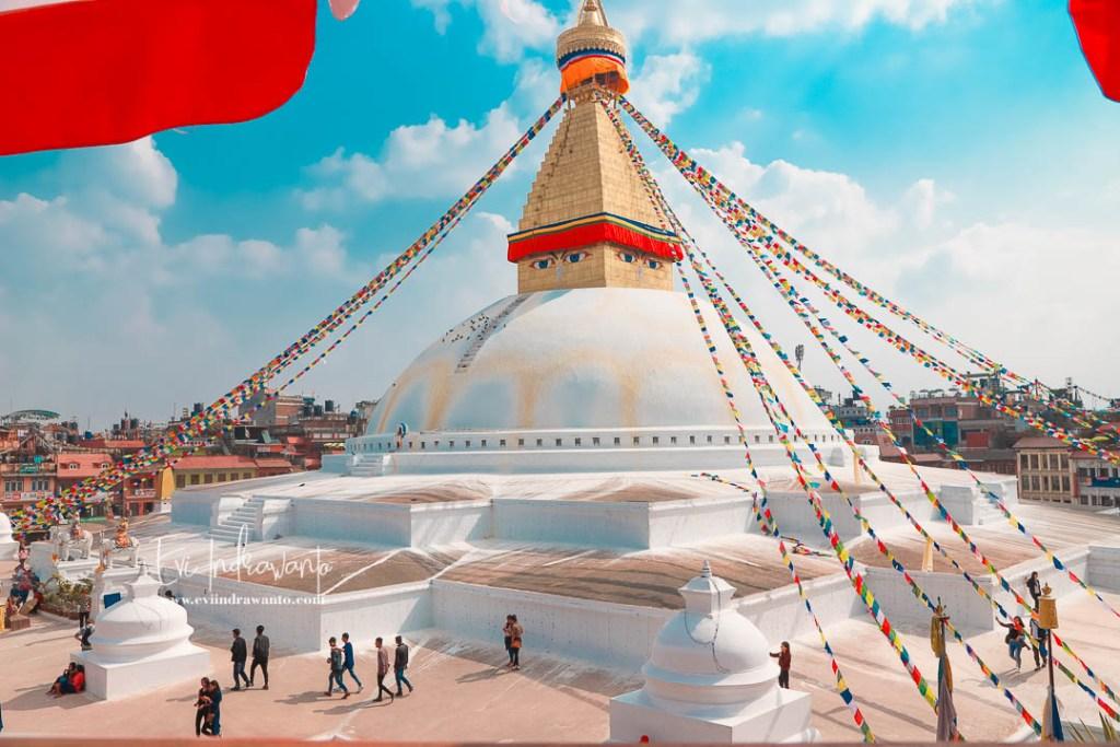 Cerita dari Boudhanath Stupa