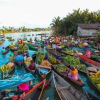 Pasar Terapung Lok Baintan Banjar