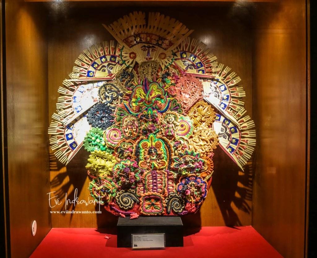 Benda seni di Museum Bali