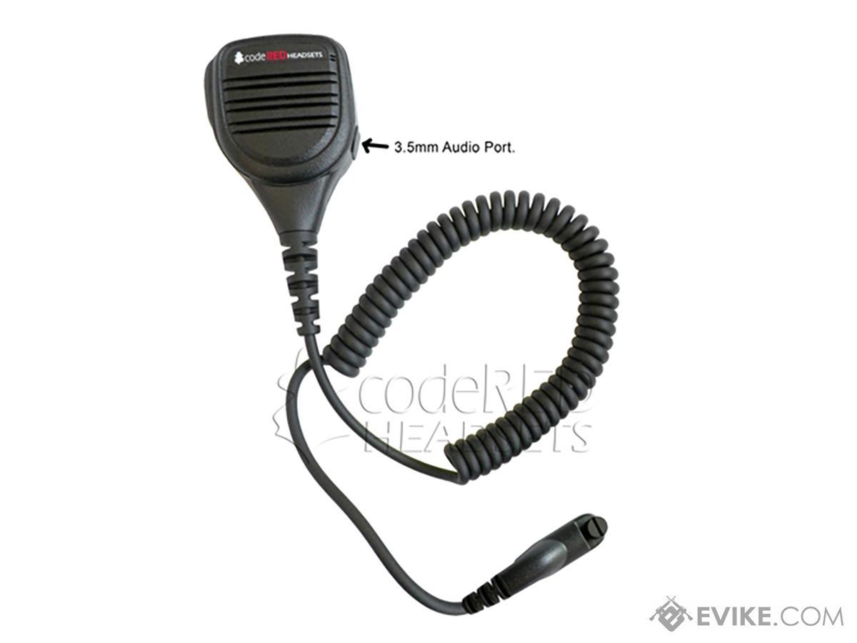Code Red Headsets Signal 21 Shoulder Speaker Mic
