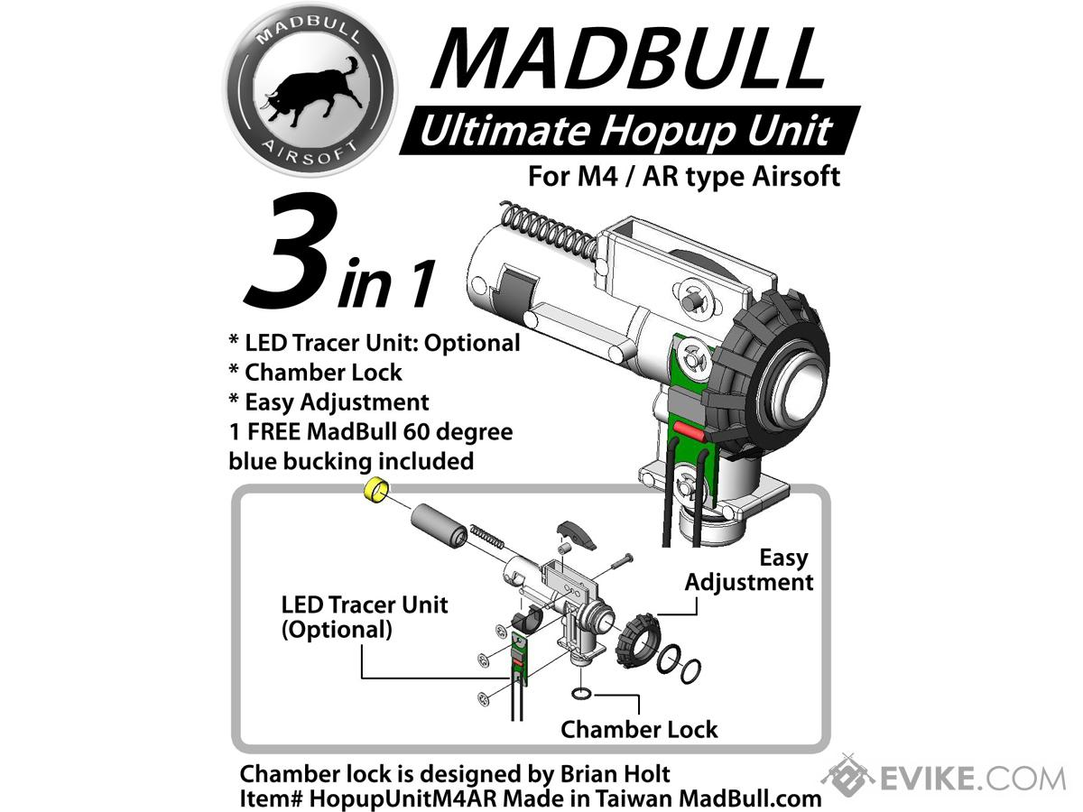 Madbull Airsoft Ultimate Hopup Unit For M4 M16 Series