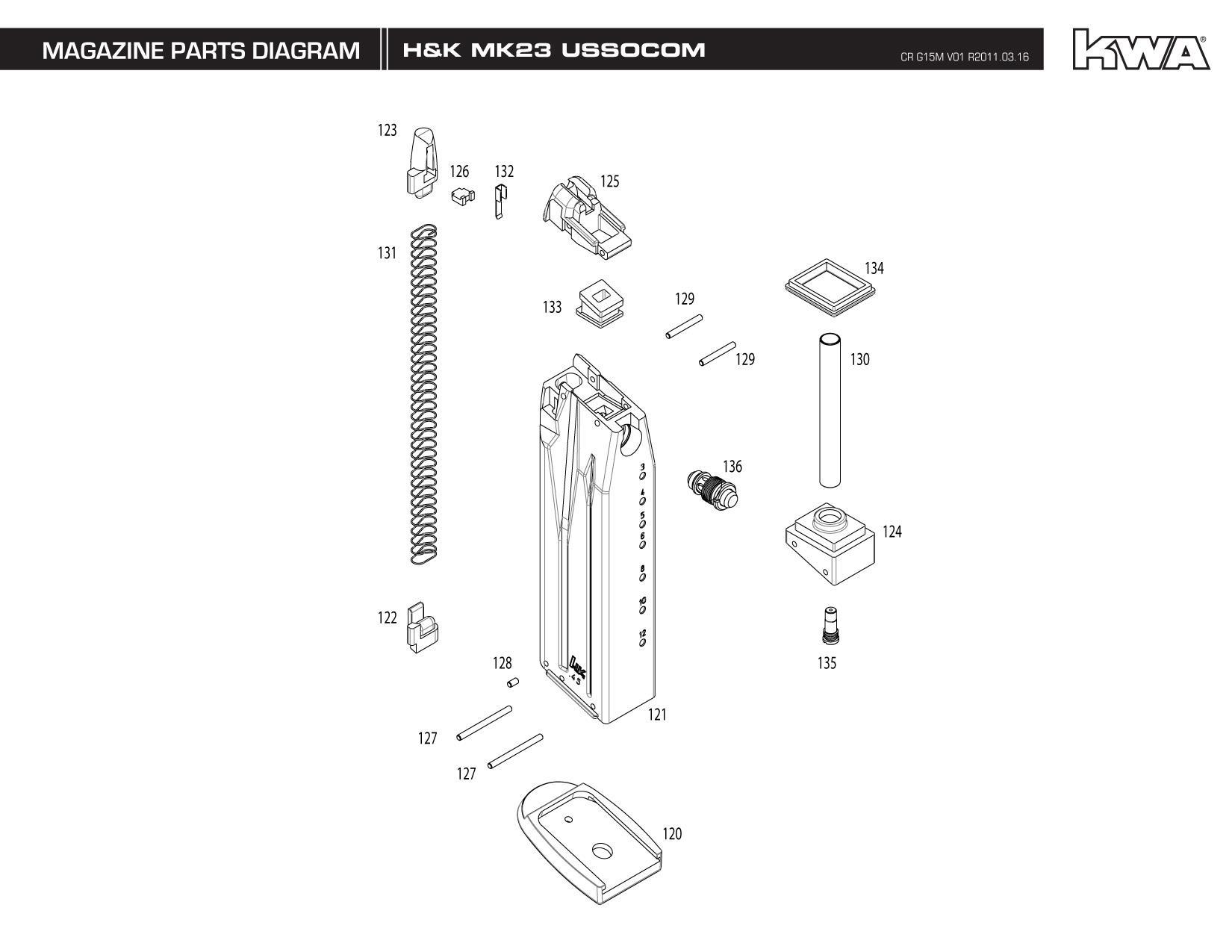 Heckler Amp Koch Umarex Full Metal Usp Mk23 Socom Ns2