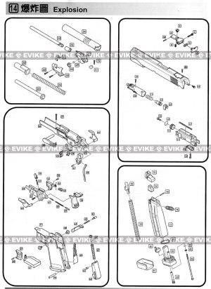 Airsoft Guns, Gas Airsoft Pistols, WE  CQB Master  Evike Airsoft Superstore