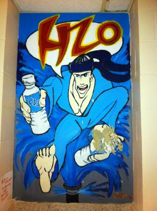 H2O - OHS Mural