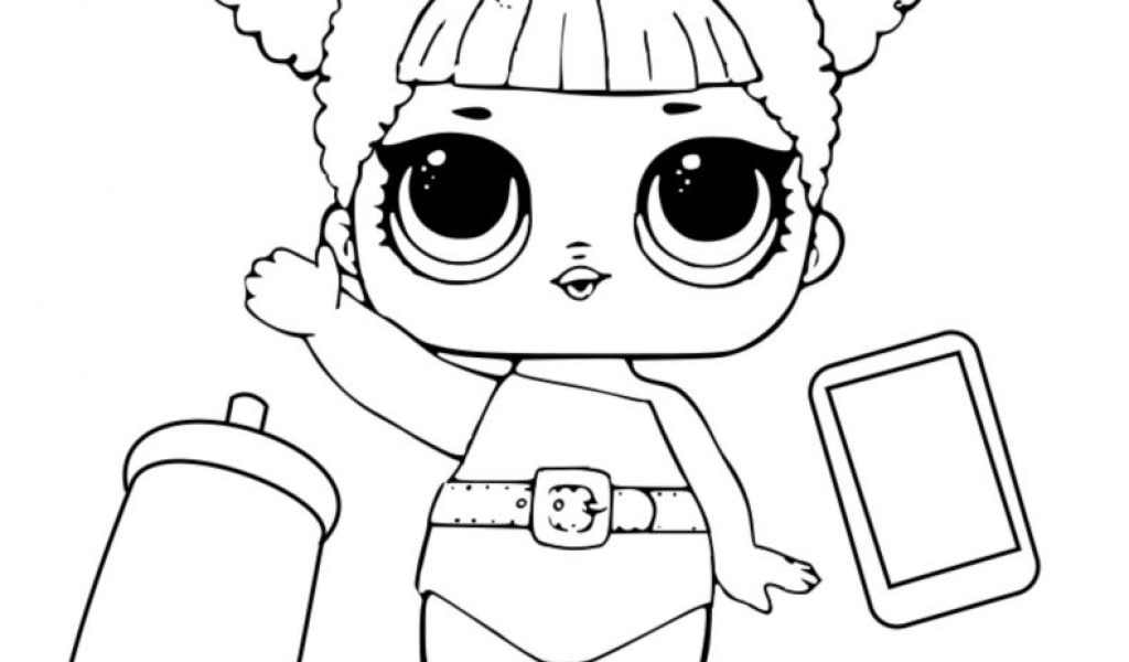 Lol Surprise Dolls Coloring Pages Lil Cosmic Queen Lol 13 Modern
