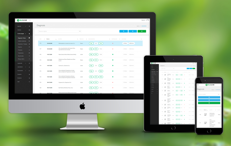 EviSane - Software para empresas de control de plagas y sanidad ambiental en la nube