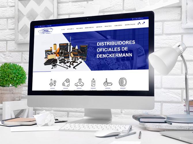 Proyecto FGA Automoción - Diseño de tienda online