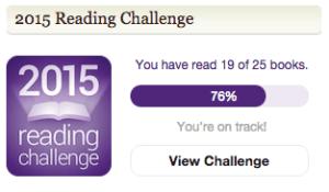 Mijn 2015 Reading Challenge