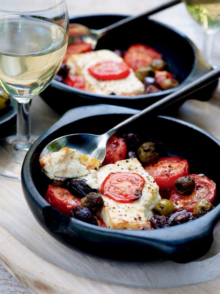 PE2 - Warme feta met tomaat en olijven 2