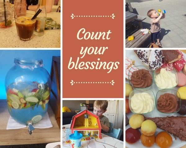 Gelukjes Count your blessings juni 2018