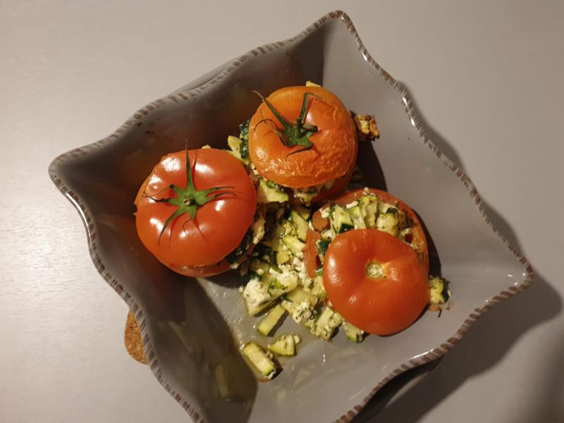 Nog eenvoudiger: gevulde tomaten