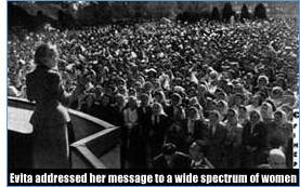 Evita's address