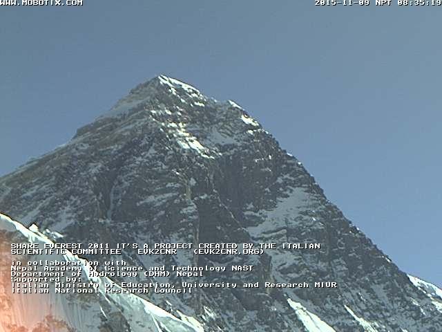 Эверест с вэб камеры