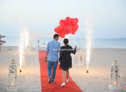 Bodrum Kumsalda Evlilik Teklifi Organizasyonu