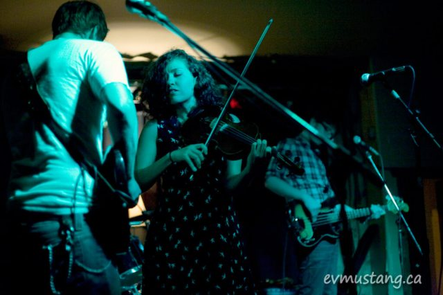 image of shotgun wedding band at the Red Dog, Peterborough