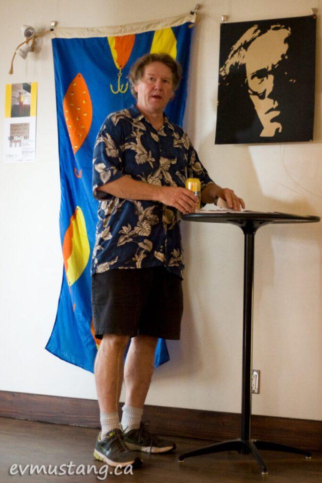 image of Bill Kimball promoting Totally Multi Cabaret for Artsweek 2014