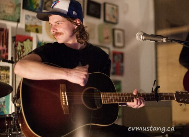 image of nick procyshyn and the bad milk playing at artspace peterborough