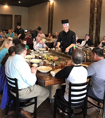 EVent Ventless Teppan Griddle Evo Inc Official Site - Teppan table