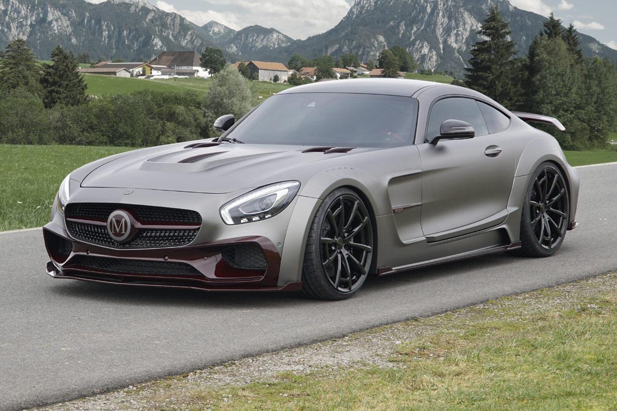 Mercedes AMG GT S Mansory Breitbau Monster Vom Tuner