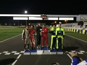 Podium 4 Heures du Mans 2014