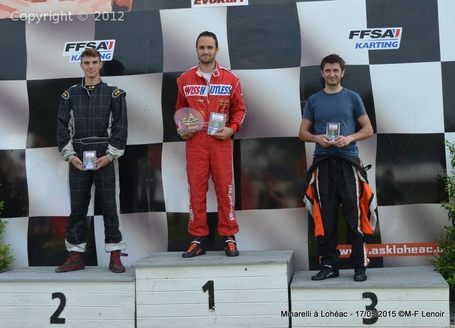 Lohéac 2015 - podium KFS 100