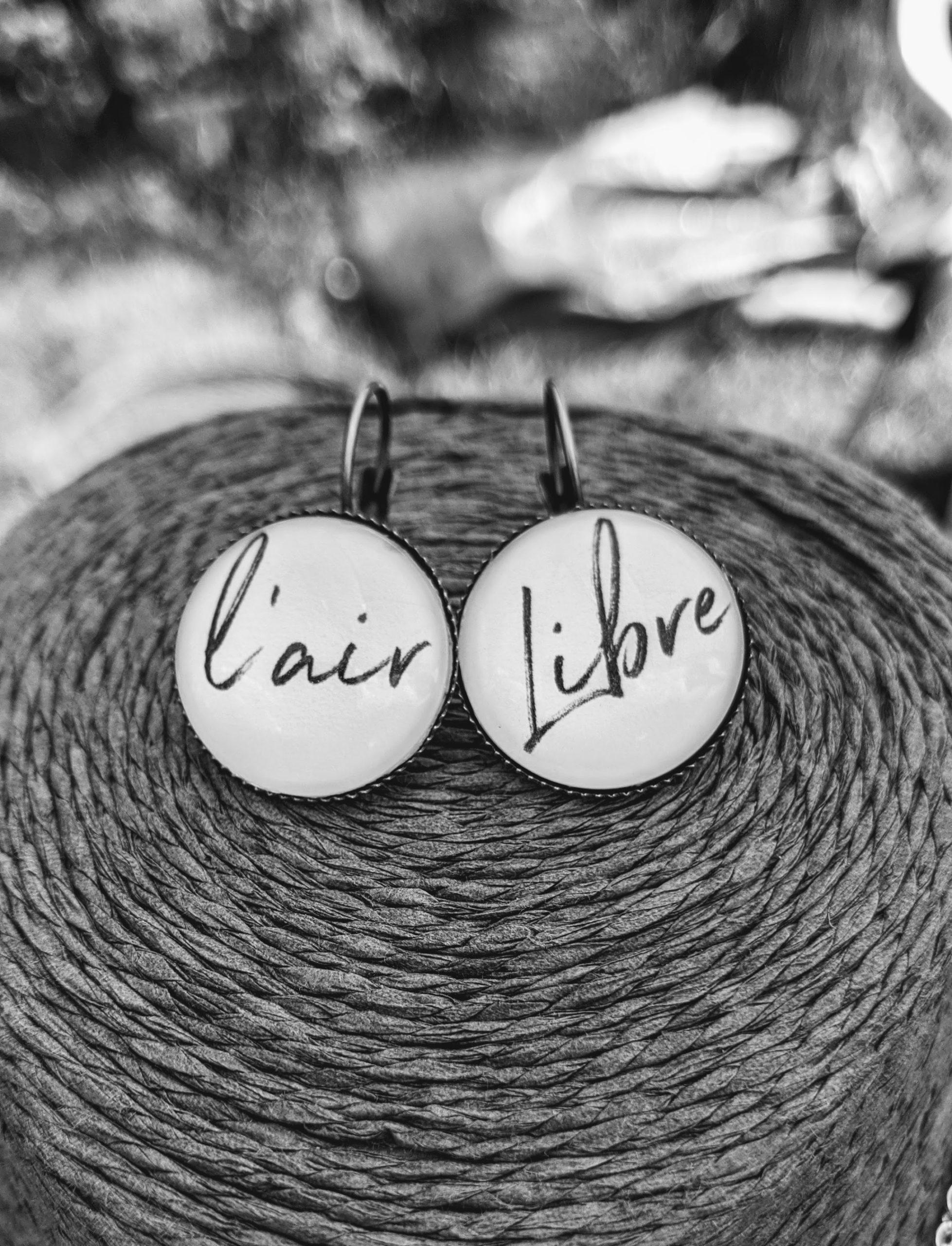 avis boucles d'oreilles evol bijoux air libre