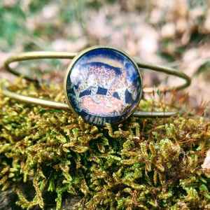bracelet bronze léopard evol bijoux (2)