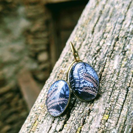 les dormeuses ovales feuilles (2)
