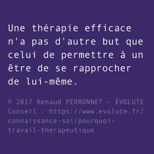 Thérapie efficace