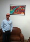 Bertrand Pichot, expert publicité numérique, dans les bureaux d'Adnovia