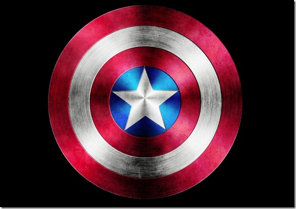 Best photoshop tutorials created in august evolutionary designs captain america shield in photoshop toneelgroepblik Image collections