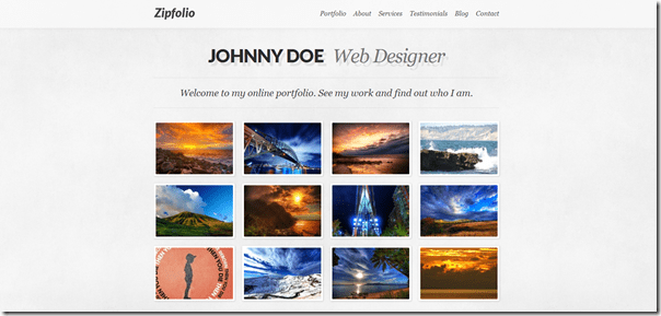 5 New  Premium Portfolio WordPress Themes