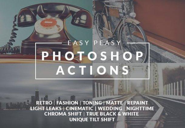 Premium Design Bundles - Photoshop Actions, Fonts,Vectors