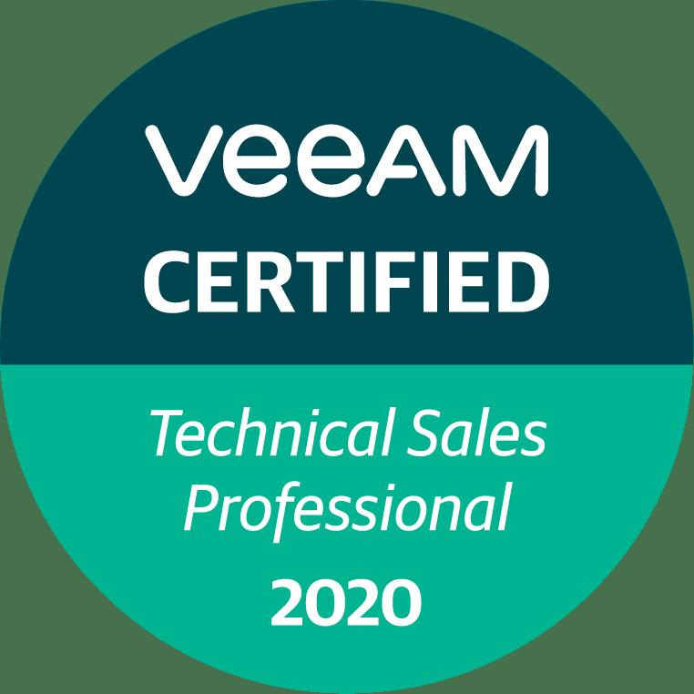 Veeam Certification Badge