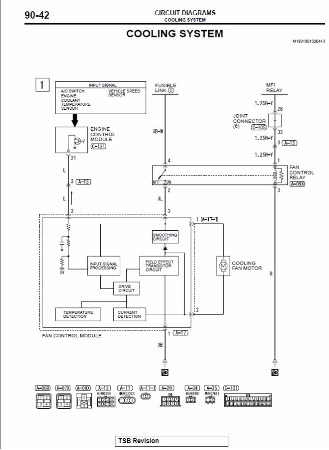 a/c condenser fan rewire  evolutionm  mitsubishi lancer