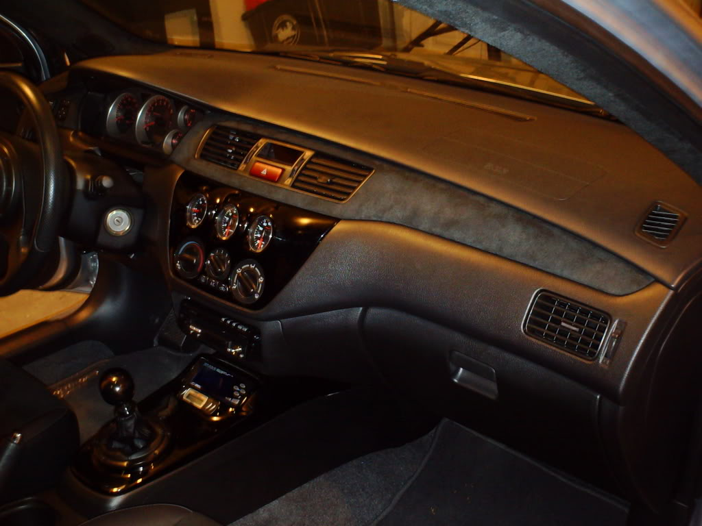EVO Full Suede Interior With Dash Trim Inserts
