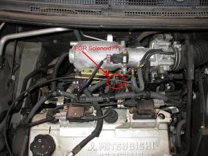 ID the EGR Solenoid (with pics)  EvolutionM  Mitsubishi Lancer and Lancer Evolution Community