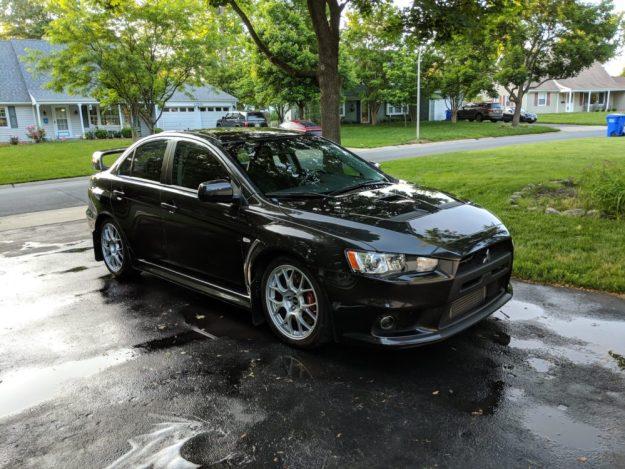 2010 Mitsubishi Evolution X GSR