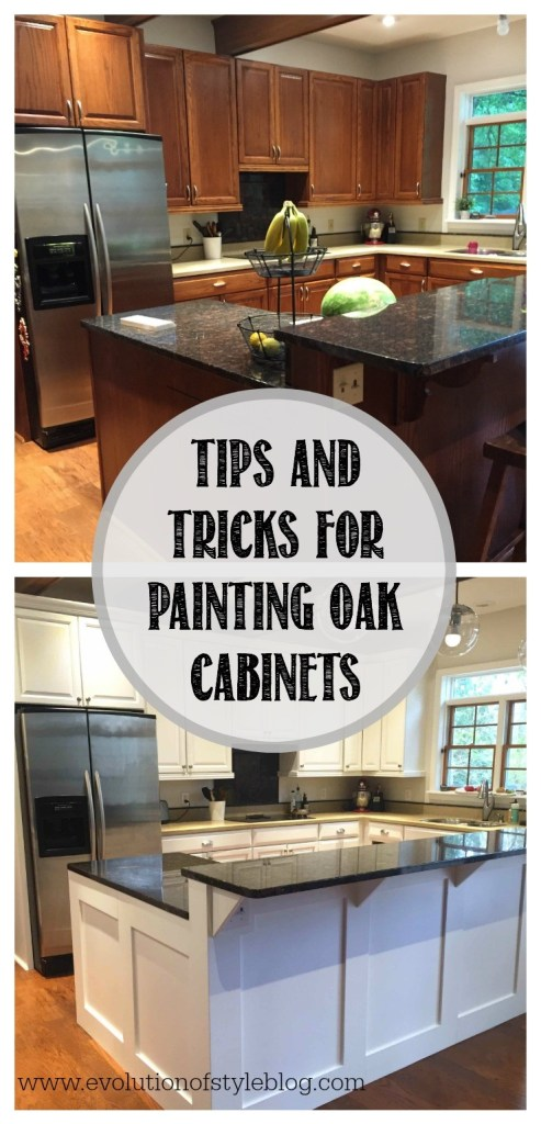 How to Paint Oak Cabinets - From a Pro