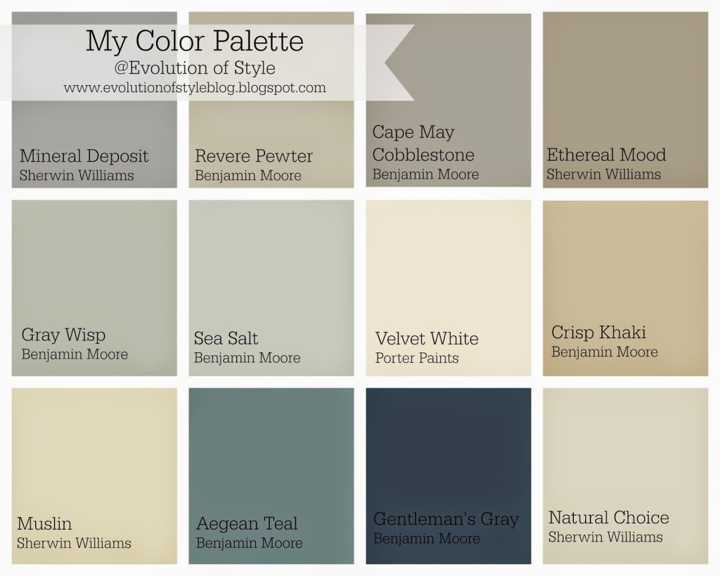 Whole House Color Palette Evolution Of Style,Controlling Variables Definition