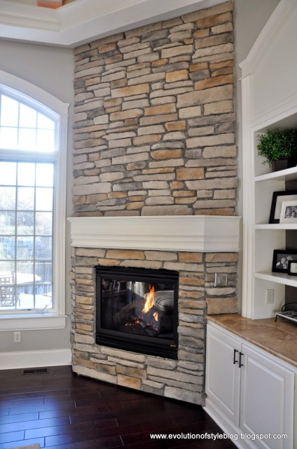 How to Reface Your Fireplace with Ledgestone Veneer