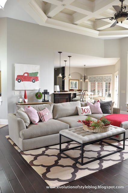 Arhaus Sectional In Great Room