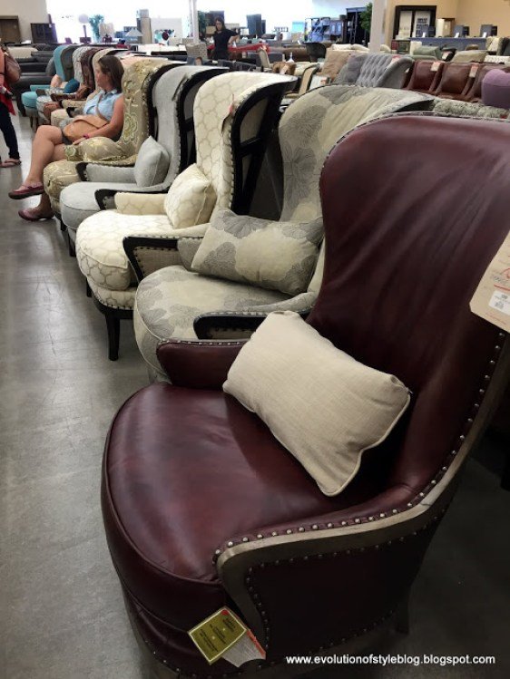 Arhaus Outlet chair selection