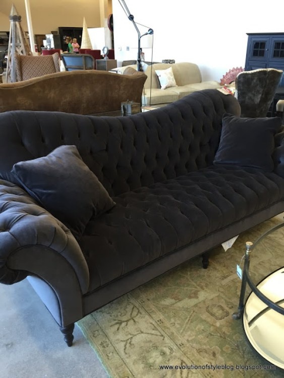Arhaus Outlet Tufted Sofa