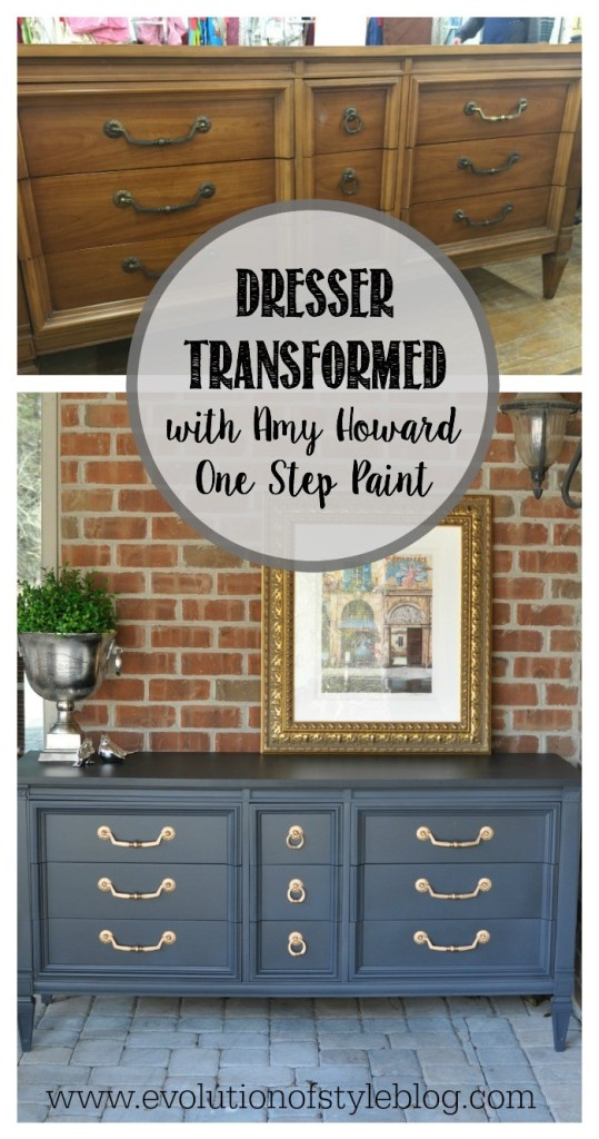 Dresser Makeover with Amy Howard One Step Paint