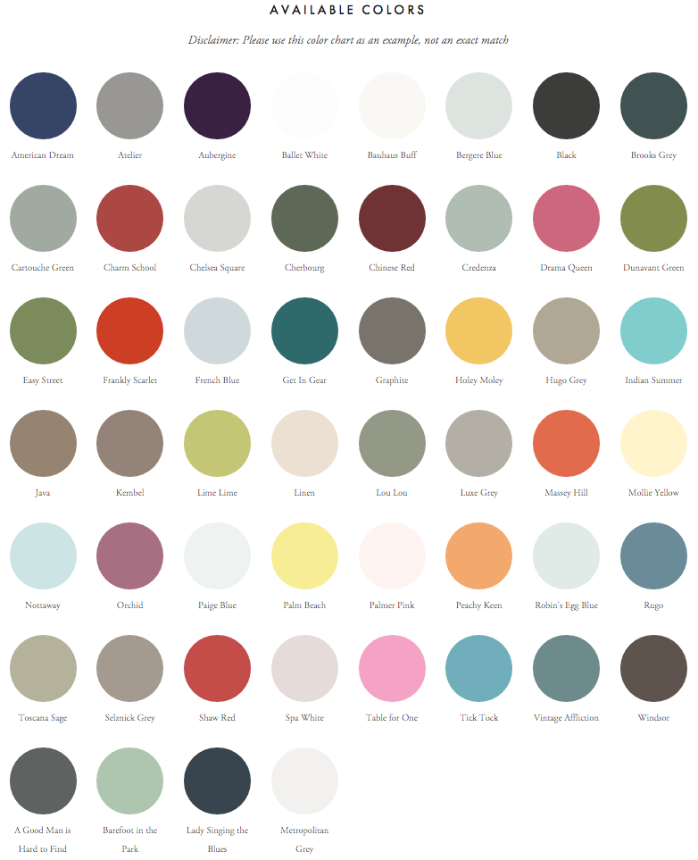 amy howard at home color chart
