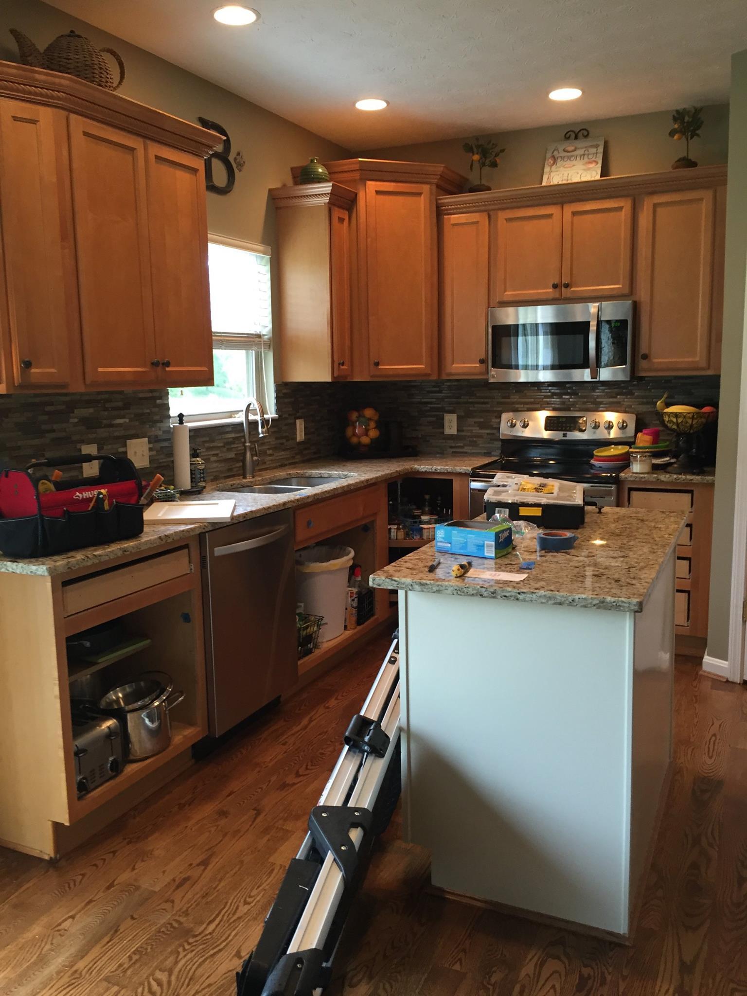 Belanger Kitchen Before1