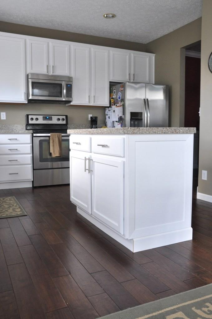Painted White Kitchen